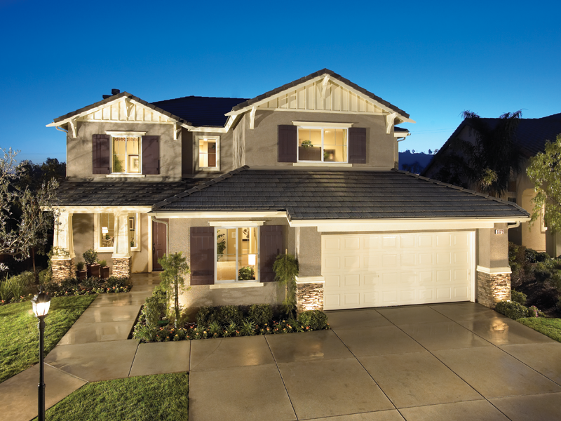 Single family homes flair architects for American family homes inc